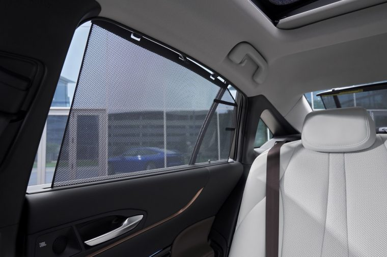 2021 Toyota Mirai Limited sunshade