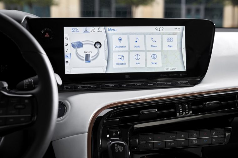 2021 Toyota Mirai Limited touch screen