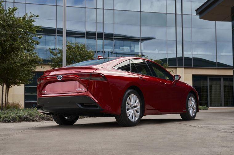 2021 Toyota Mirai XLE rear end