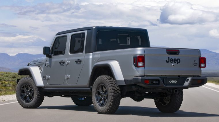 The 2021 Jeep Gladiator Willys