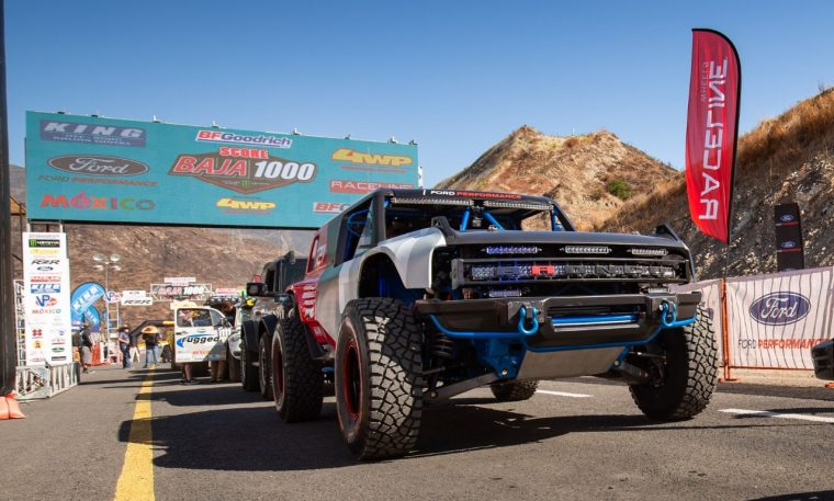 Ford Bronco R race prototype 2020 SCORE International Baja 1000