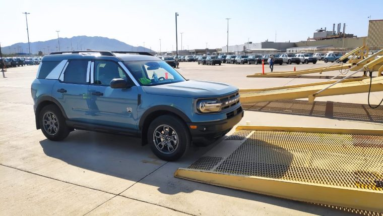 2021 Ford Bronco Sport shipping