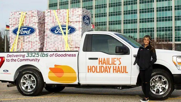 Hailie Deegan Hailie's Holiday Haul