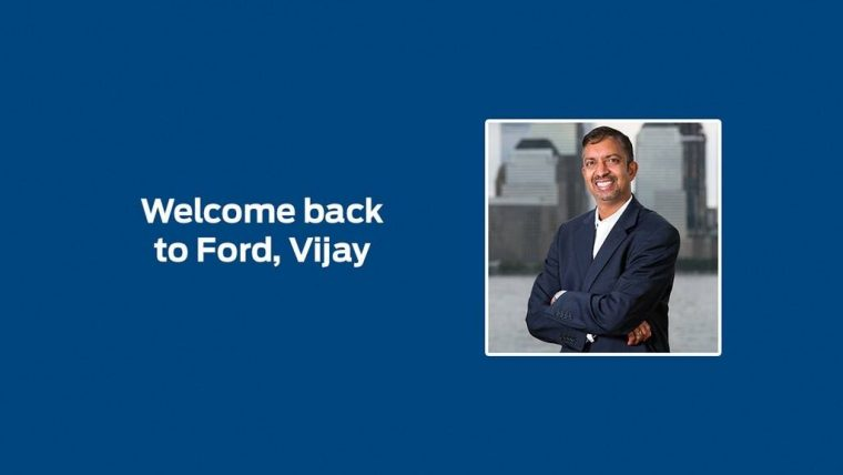 Welcome Back to Ford Vijay
