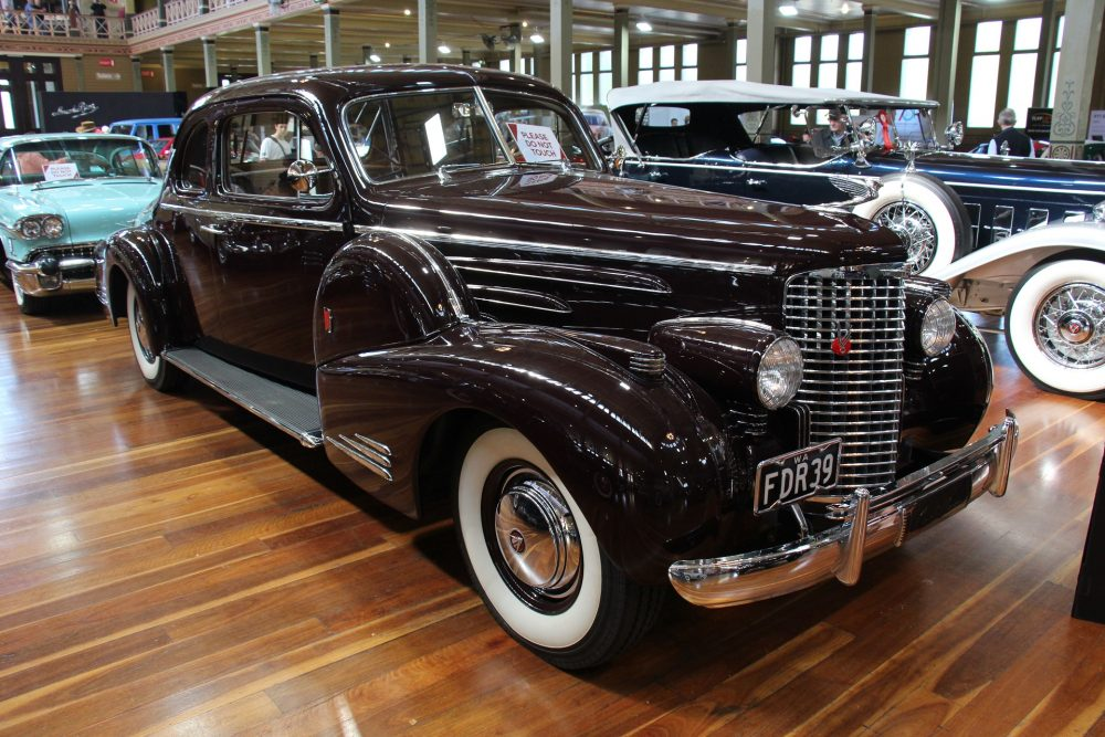 A 1040 Cadillac Fleetwood, much like the one driven by The Godfather himself