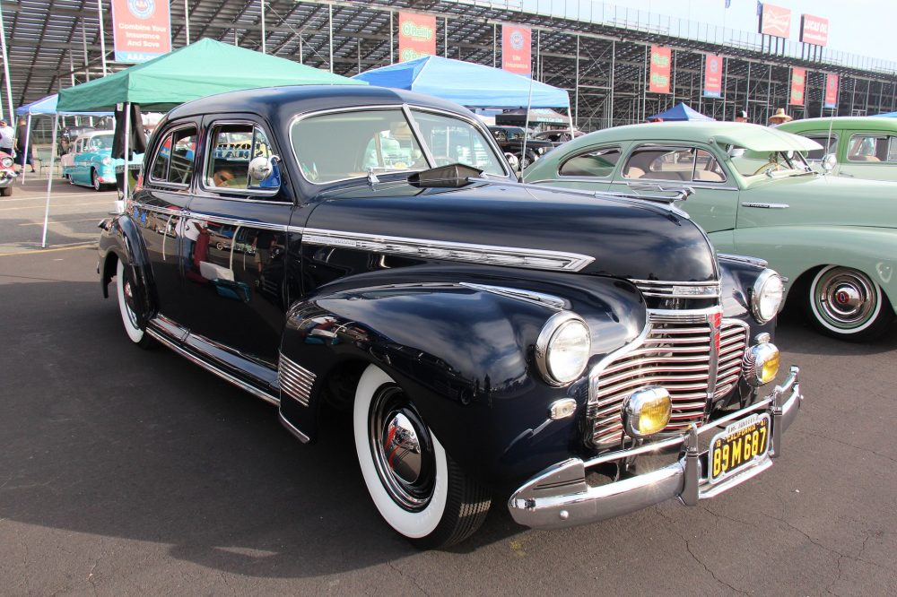 A 1941 Chevrolet Special Deluxe
