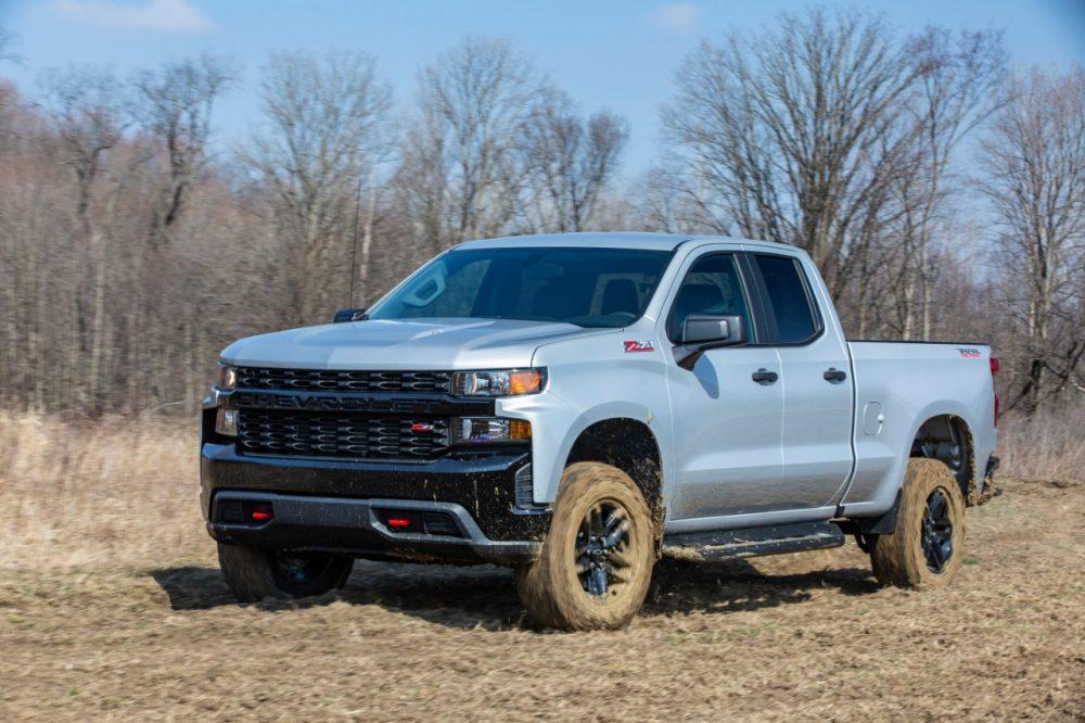 The 2020 Chevrolet Silverado Custom Trail Boss