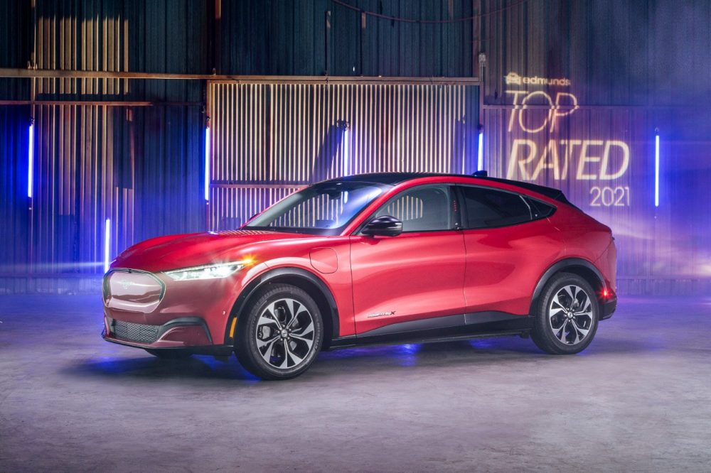 2021 Ford Mustang Mach-E Edmunds Top Rated Luxury SUV 2021