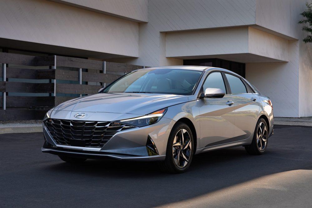 2021 Hyundai Elantra KBB awards