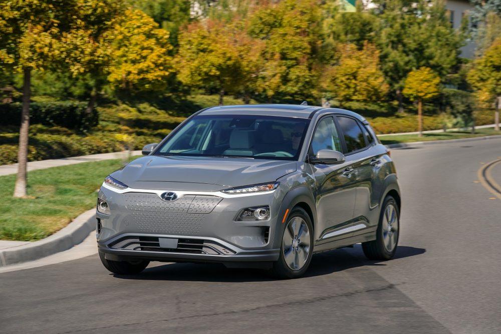 2021 Hyundai Kona Electric KBB awards