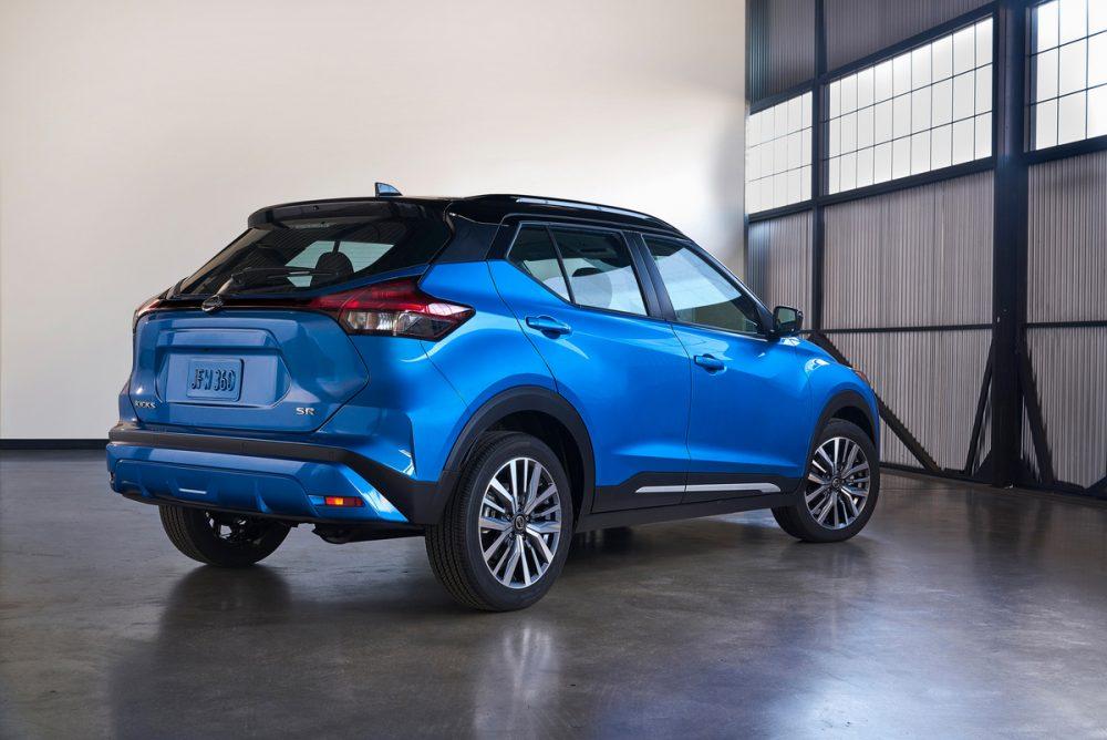 2021 Nissan Kicks rear view