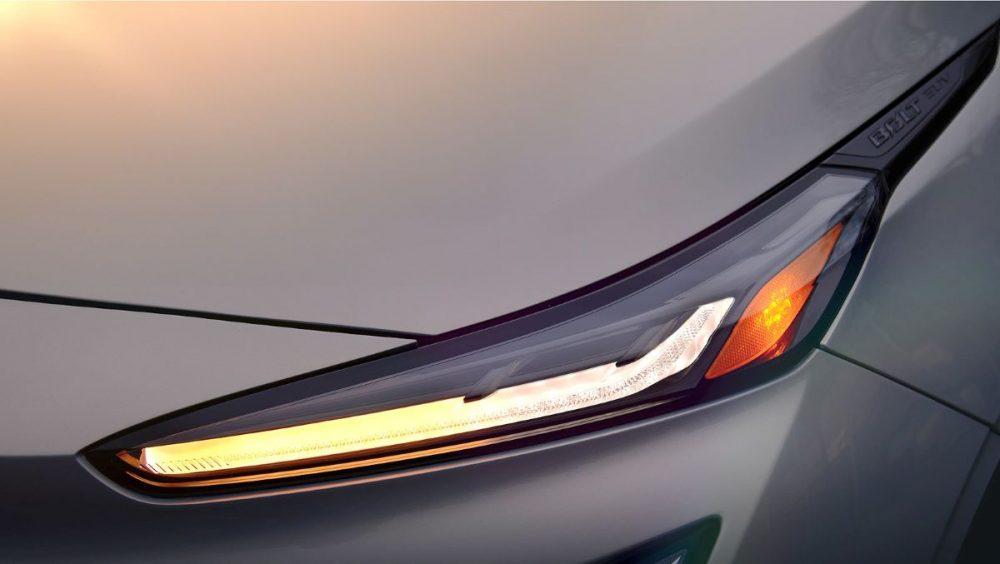 2022 Chevrolet Bolt EUV lights