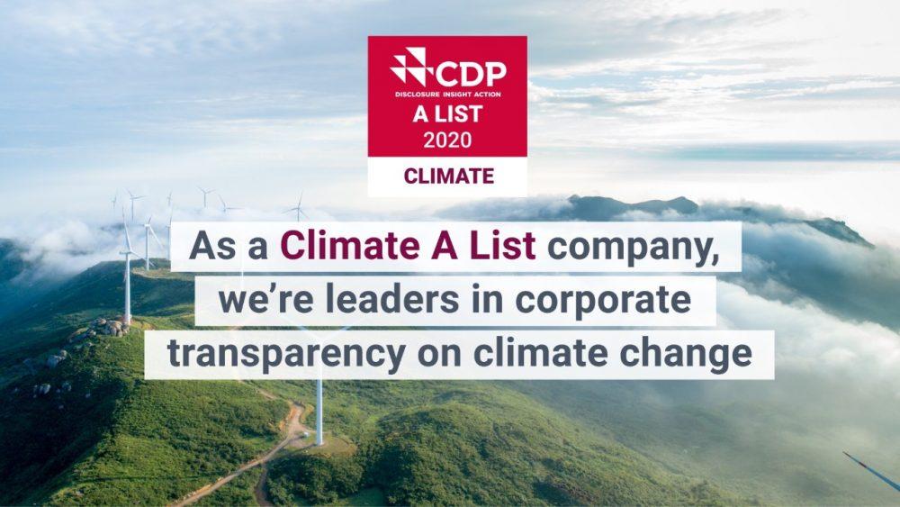 CDP A List 2020