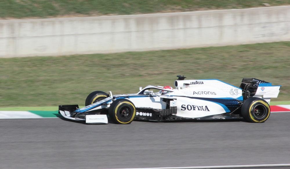 George Russell at 2020 Mugello Grand Prix