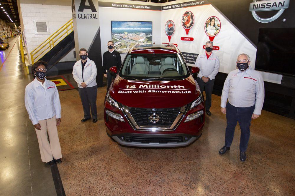 14 Millionth Nissan Made at Smyrna Plant