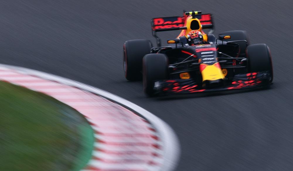 Red Bull RB13 at 2017 Japanese GP FP1