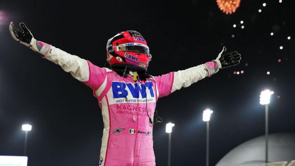 Sergio Perez wins 2020 Sakhir Grand Prix