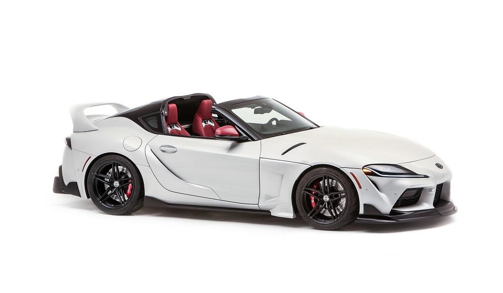 Toyota GR Supra Sport Top (SEMA Concept - front)