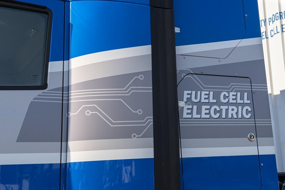 Toyota's Next Gen Fuel Cell Truck - cab text