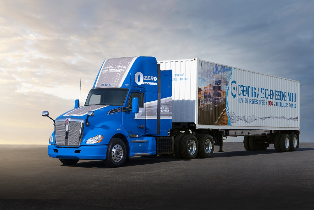Toyota's Next Gen Fuel Cell Truck