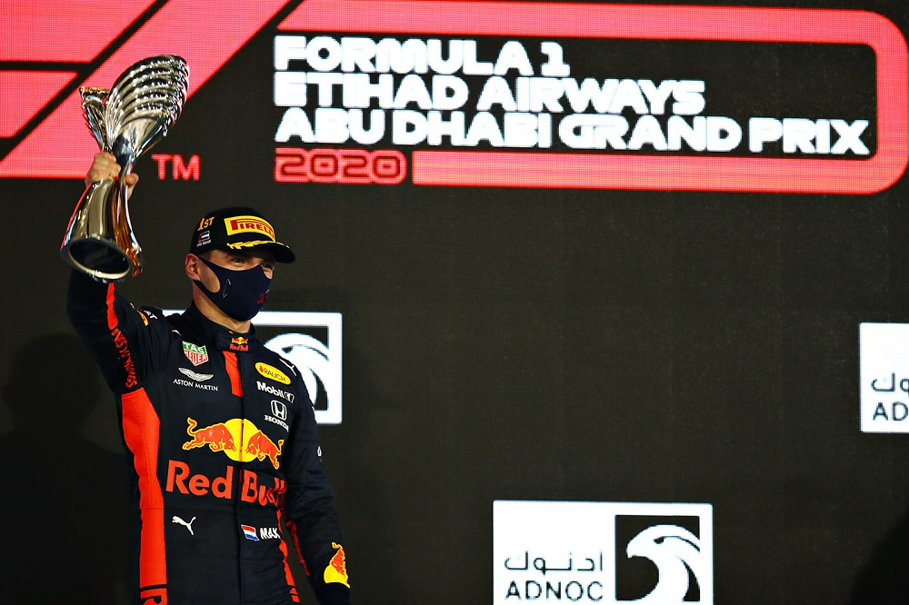 Verstappen won in Abu Dhabi, the last race of the 2020 F1 season