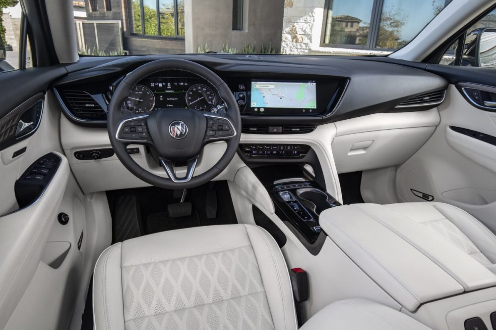 2021 Buick Envision front seat
