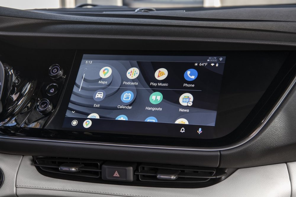 2021 Buick Envision touch screen