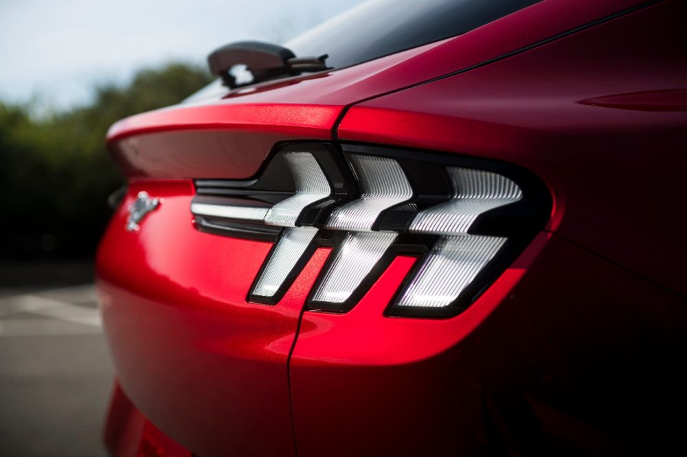 2021 Ford Mustang Mach-E taillamps
