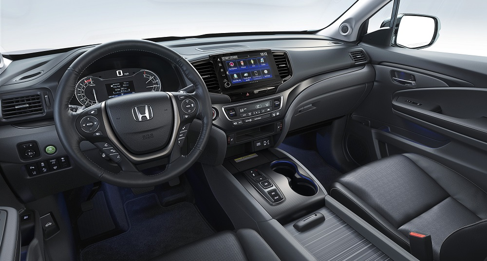 2021 Honda Ridgeline RTL-E cockpit view