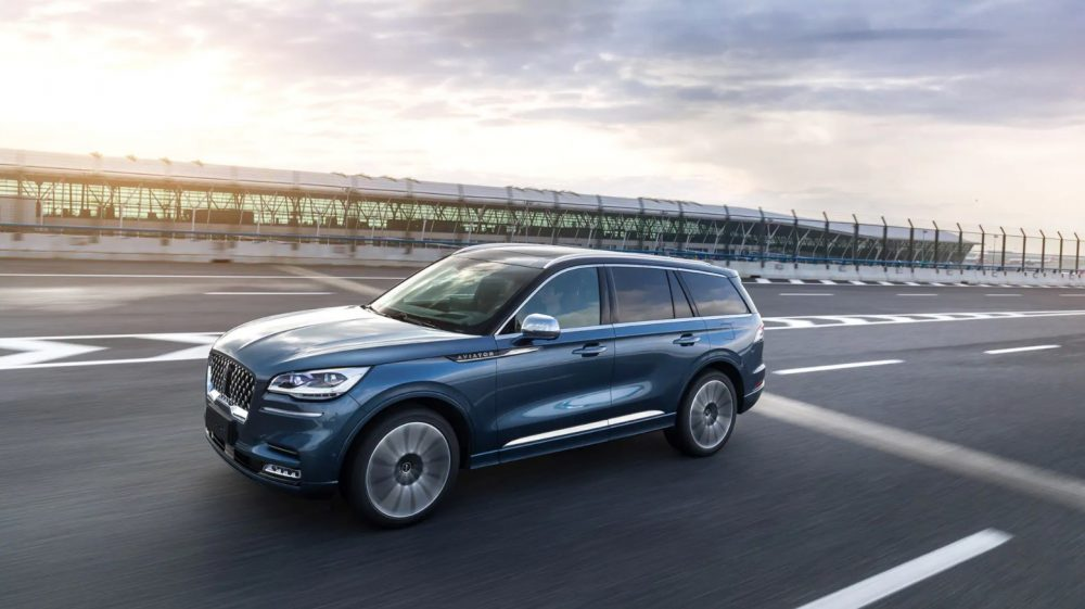 2021 Lincoln Aviator named 2021 China SUV of the Year, in action