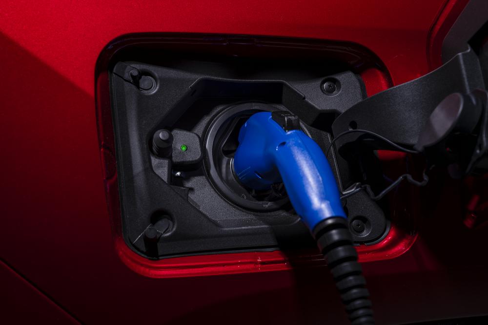 2021 Toyota RAV4 Prime plugged in