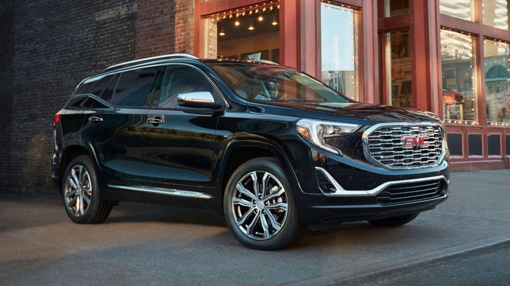 The 2021 GMC Terrain Denali trim