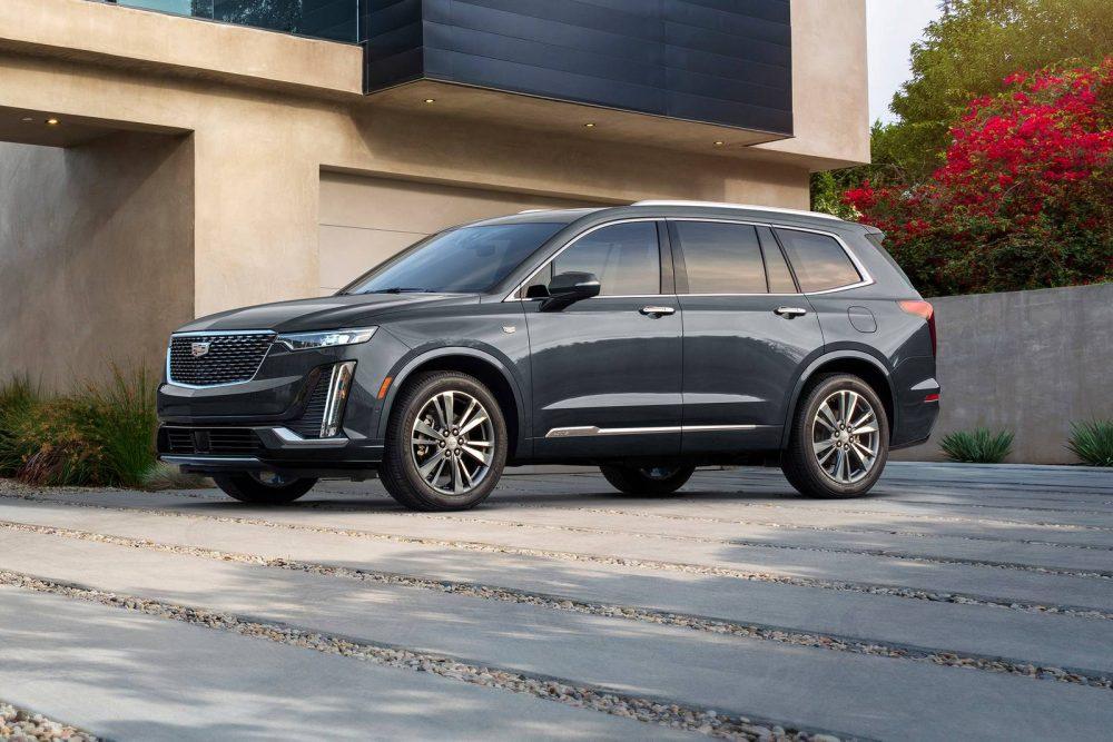 A snazzy new 2021 Cadillac XT6