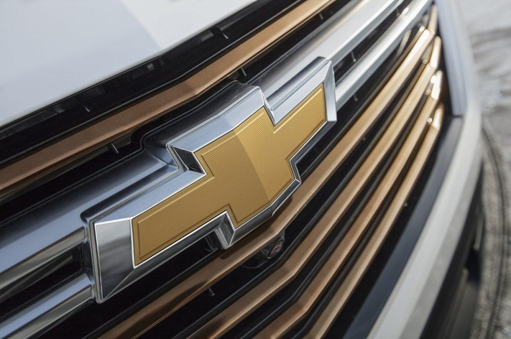 Chevrolet bowtie badge