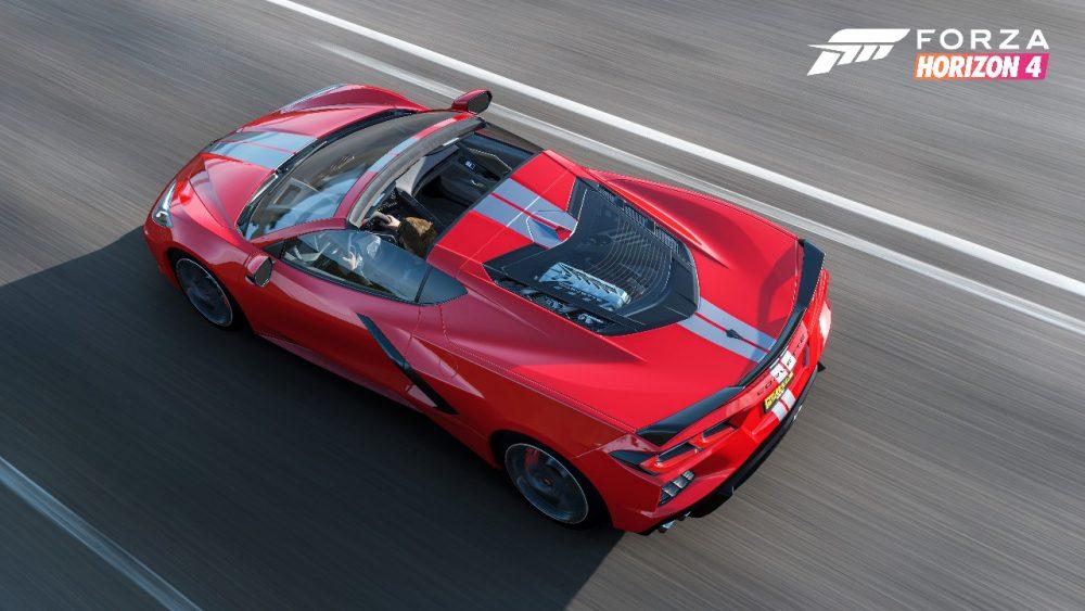 C8 Chevy Corvette Comes to Forza Horizon 4