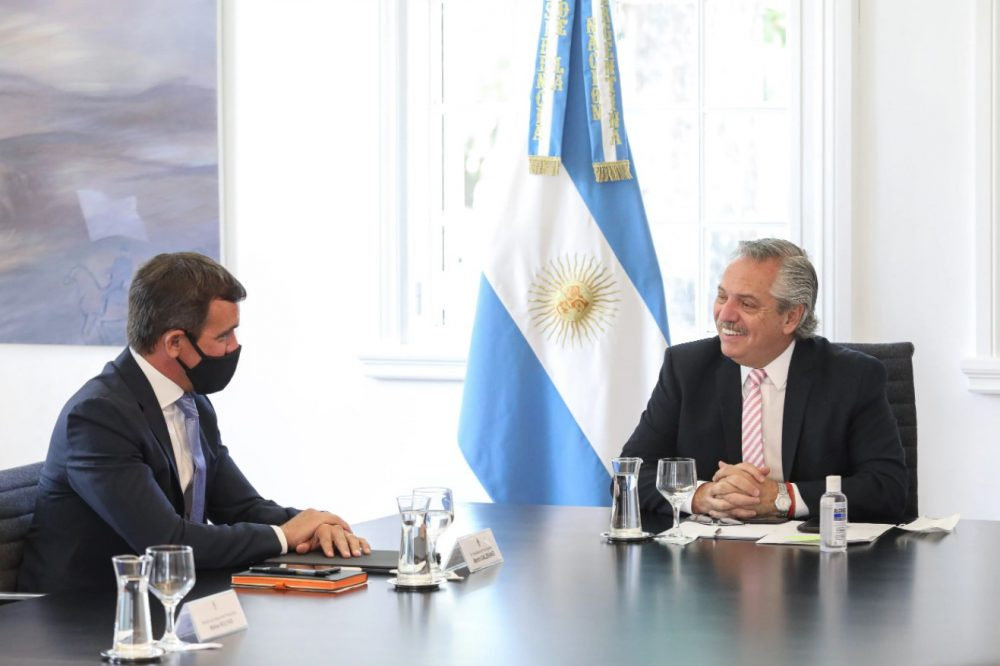 Ford Argentina Investment | Ford Argentina President Martin Galdeano and President of Argentina Alberto Fernandez discuss Ford's $580M investment at Pacheco Stamping and Assembly for the next-gen Ranger