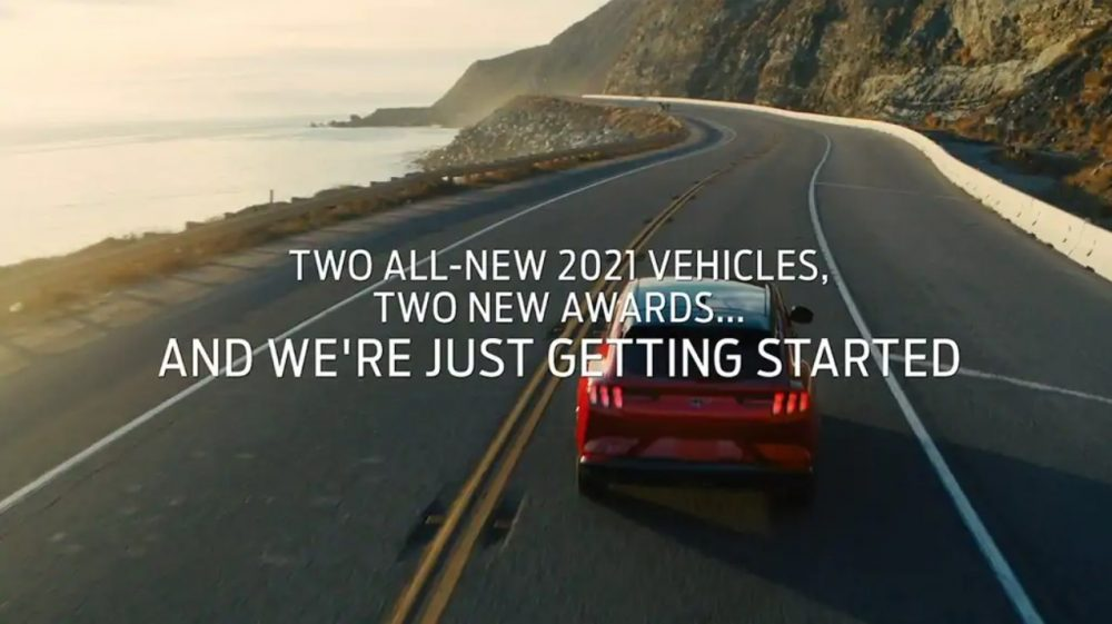 Ford F-150, Mustang Mach-E win 2021 North American Truck of the Year, North American Utility of the Year