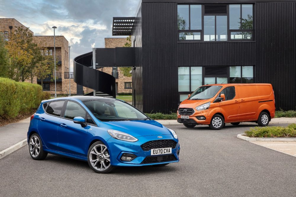 Ford Fiesta and Ford Transit Custom