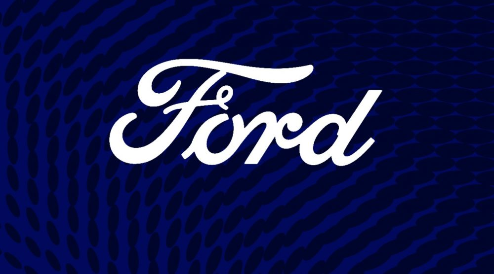 Ford Logo on Blue Backdrop   Ford China 2020 sales announced
