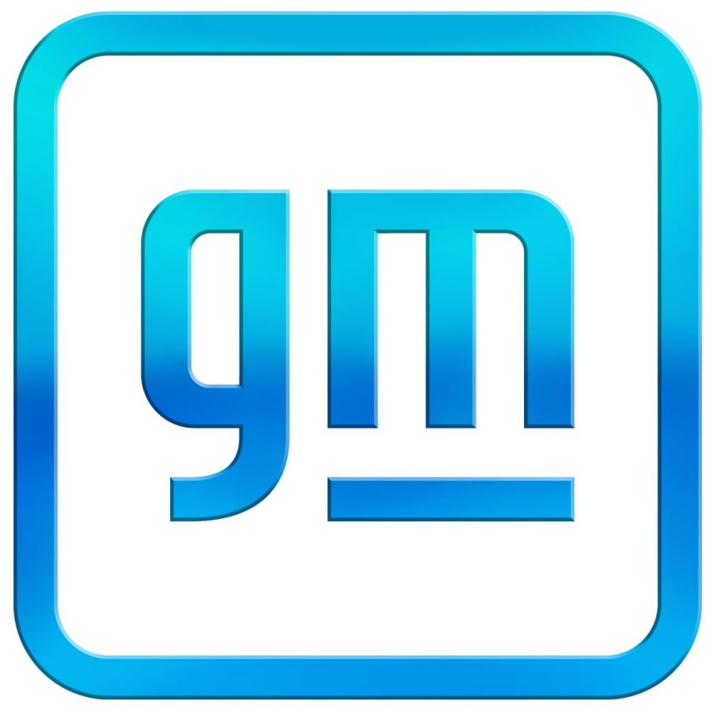 The new GM logo