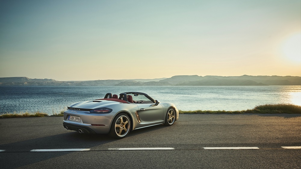 Porsche Boxster 25 Years (back)