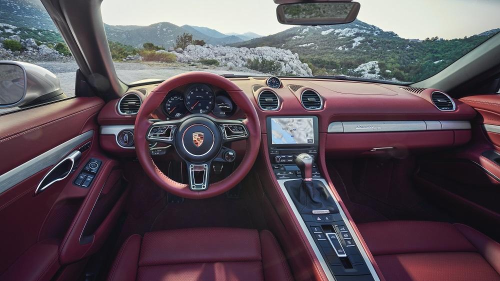 Porsche Boxster 25 Years (cockpit)