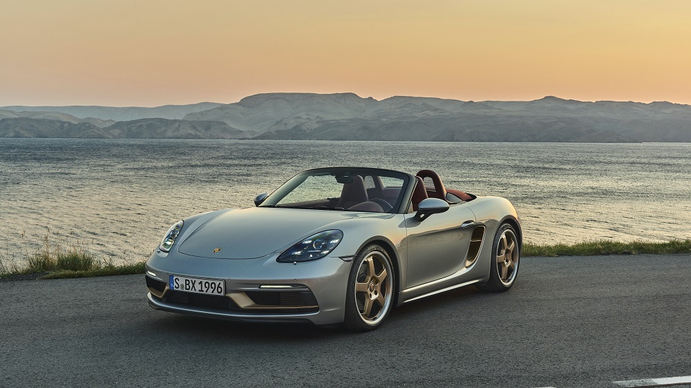 Porsche Boxster 25 Years (front)