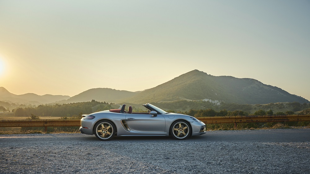 Porsche Boxster 25 Years (side)