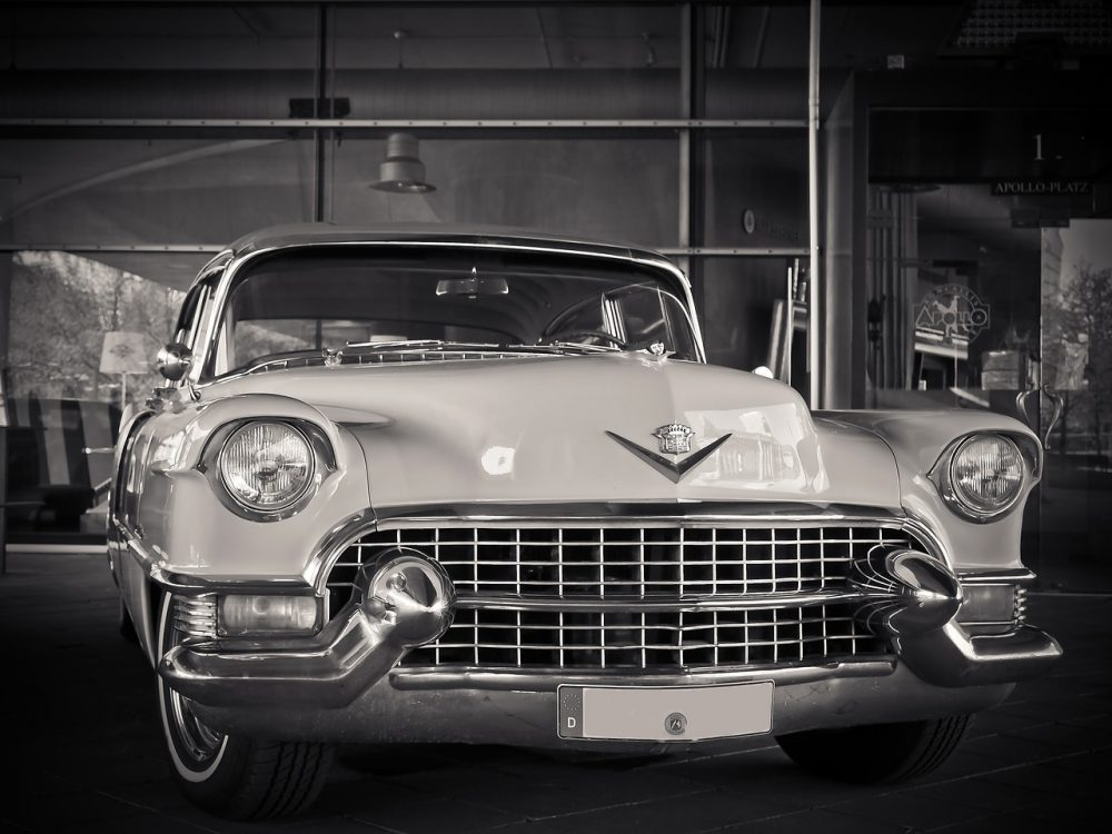 A classic Cadillac with an air of mystery