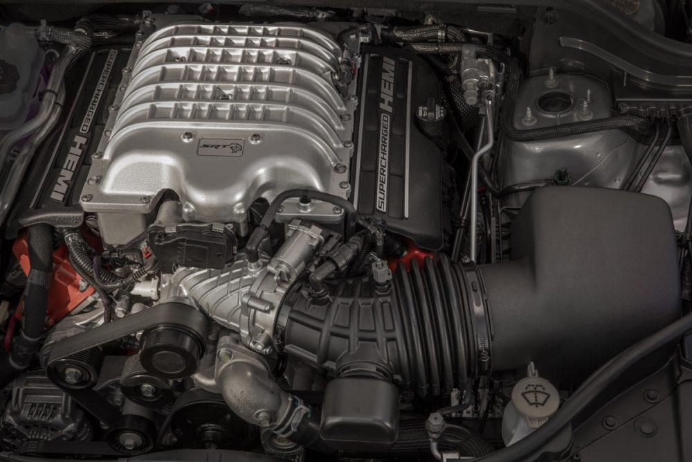 The Supercharged 6.2-liter V8 engine