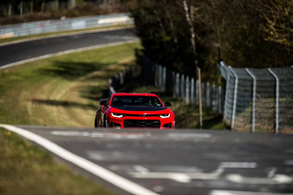 2018 Chevy Camaro ZL1 1LE at the Nordschleife