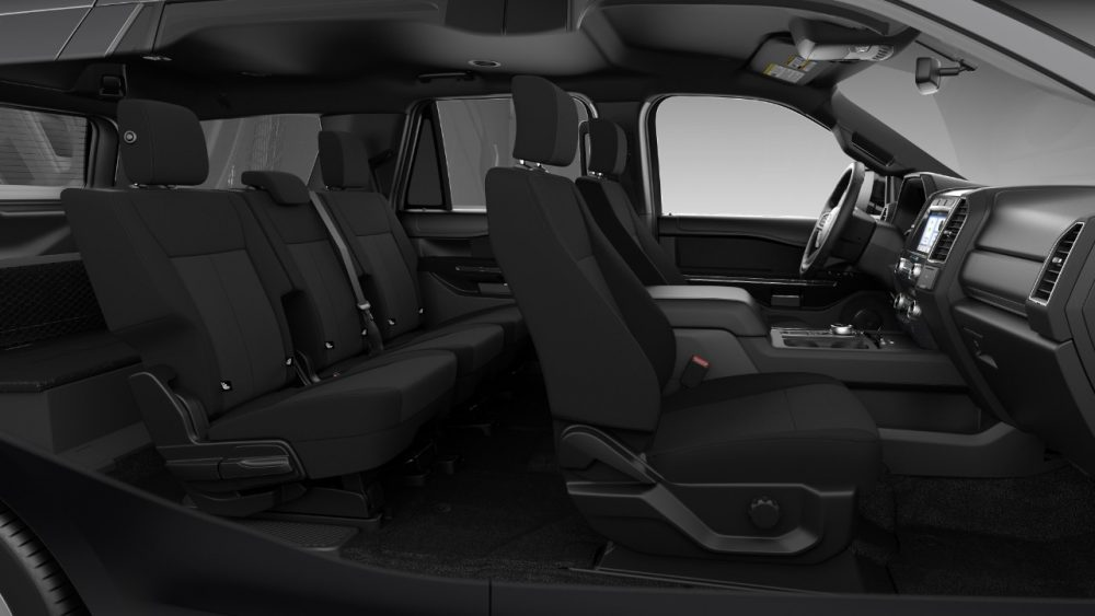 2021 Ford Expedition XL STX two-row interior