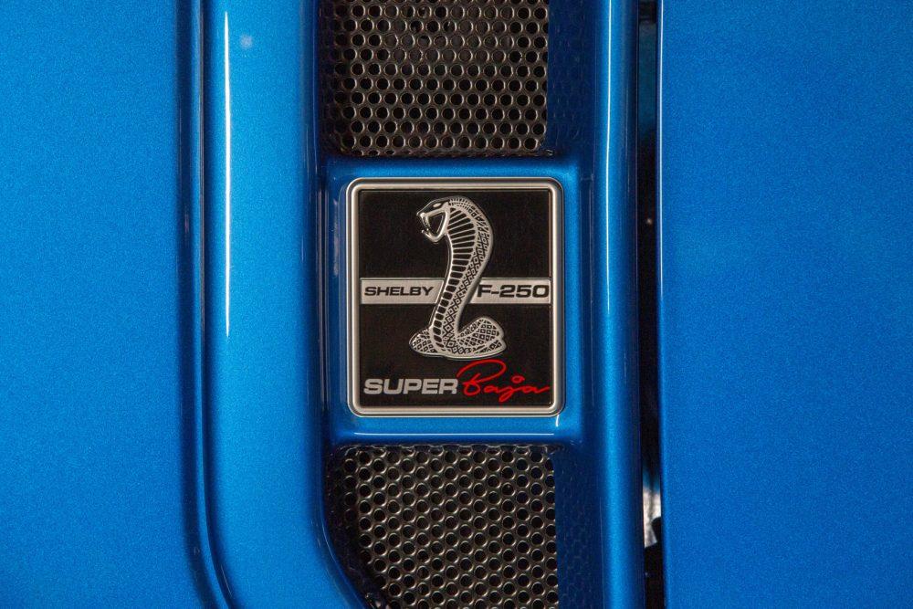 2021 Ford Shelby F-250 Super Baja Shelby Snake emblem