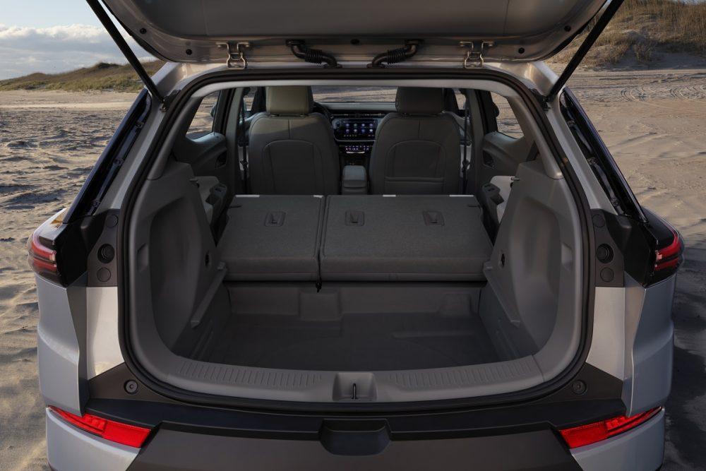 2022 Chevrolet Bolt EUV cargo bay compartment